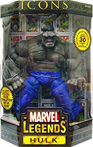 Marvel Legends Icons Hulk Gray 12-inch Action Figure