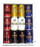 エビスビール 5種 350ml×12缶 飲み比べセット(ロイヤルセレクション、薫り華やぐエビス入り)