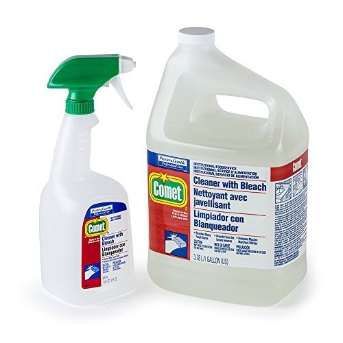 Procter & Gamble PGC02291 1 Gallon Comet Cleaner Refill with Bleach 3/Case by Huff United