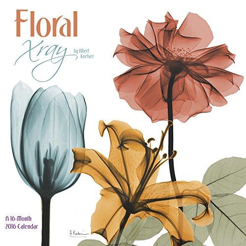 Floral Xray 2016 Calendar