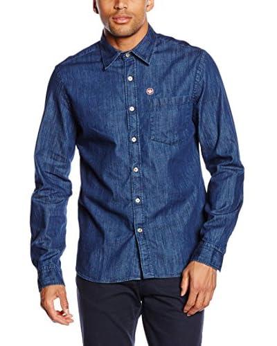 Murphy & Nye Camisa Hombre Tide Azul Oscuro