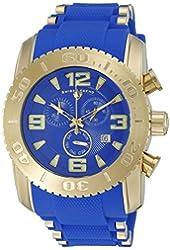 Swiss Legend Men's 10070-YG-03-BLS Commander Pro Analog Display Swiss Quartz Blue Watch