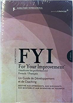fyi for your improvement competencies development guide 6th edition pdf