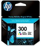 HP Cartucho de tinta tricolor HP 300 300 Ink Cartridges, De 20 a 80% HR, de -40 a 60 °C, de 15 a 32 °C, De 20 a 80% HR, 116 x 36 x 115 mm, 0.06 kg (0.132 libras)