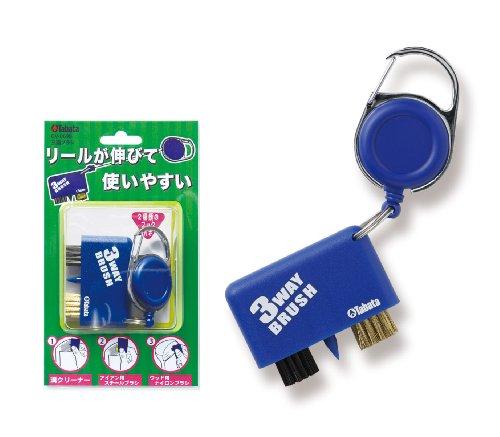 Tabata(タバタ) ゴルフメンテナンス用品 三連ブラシ GV-0698