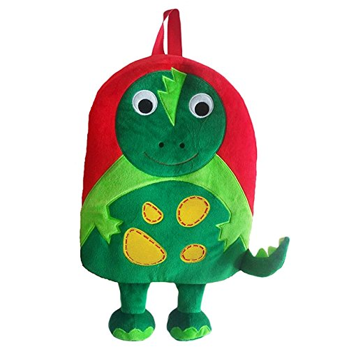 Sassafras KiddyBopBags Plush Dinosaur Backpack