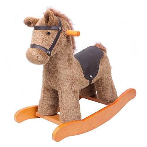 Hessie 1-3 Years Kids Knight Horse with Detachable Saddle