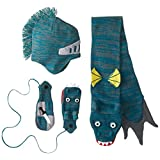 Kidorable Little Boys' Dragon Knight Hat Scarf Set
