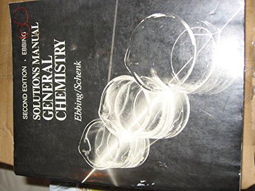 General Chemistry: Student's Solutions Manual