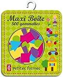 Maxi boîte 500 gommettes petites formes