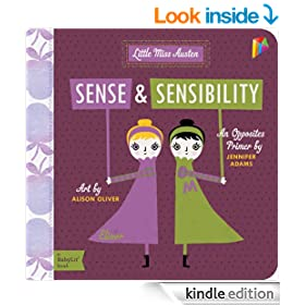 Sense & Sensibility: A BabyLit Opposites Primer: Children's Book, Bedtime Stories, Picture Book