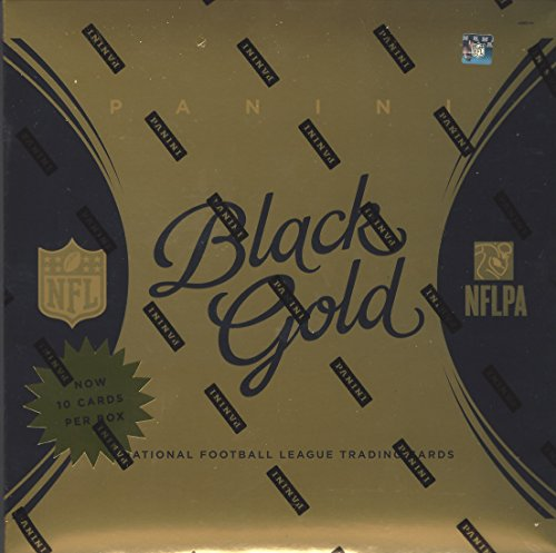 2015 Panini Black Gold NFL Football box (2 pk/10 total cards) (Gold Football Cards compare prices)