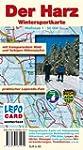 Wintersportkarte - Der Harz: mit tran...