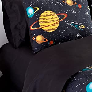 planet and moons comforter - photo #2