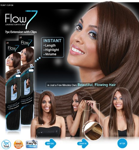Flow-7-100-Human-Hair-Clip-in-Extensions-By-Bobbi-Boss