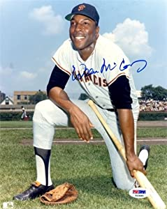 Autographed Hand Signed Willie Mccovey 8x10 San Francisco Giants 8x10 Photo