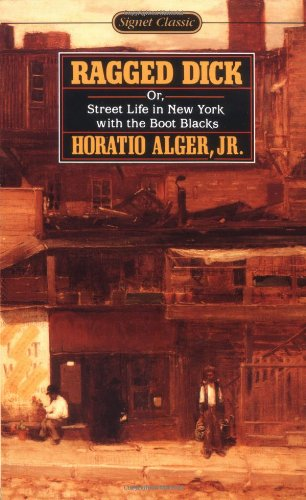 an analysis of imagery in ragged dick by horatio alger jr In the book ragged dick by horatio alger, alger portrays a young new york boot  black in the  ragged dick, horatio alger, jr did a great thing with imagery.