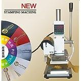 220V Digital Hot Foil Stamping Machine Bronzing machine + Stamping frame 10x13CM