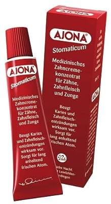 Dr. Rudolf Liebe Nachfolger Ajona Stomaticum medizinisches Zahncremekonzentrat