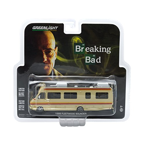 GreenLight Collectibles Breaking Bad 2008-13 TV Series - 1986 Fleetwood Bounder RV Vehicle (1:64 Scale) (Toys Rv compare prices)