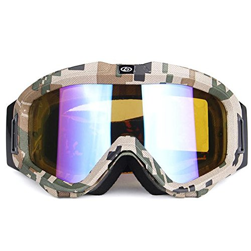 Y-H Ski Goggle Outdoors Sports Uvb Anti-fog Uvc Anti-UV Windproof PC Breathable Eyewear-C1 (Gnu Snowboard Package compare prices)