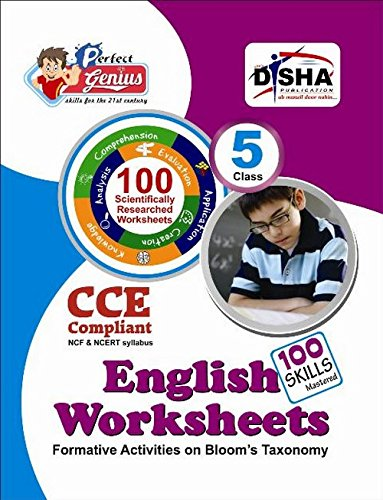Perfect Genius English Worksheets for Class -  5: Based on Bloom's Taxonomy