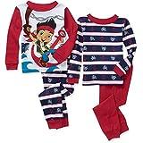 Disney Jake And The Never Land Pirates 4 PC Pajama Set Toddler Boy 5T