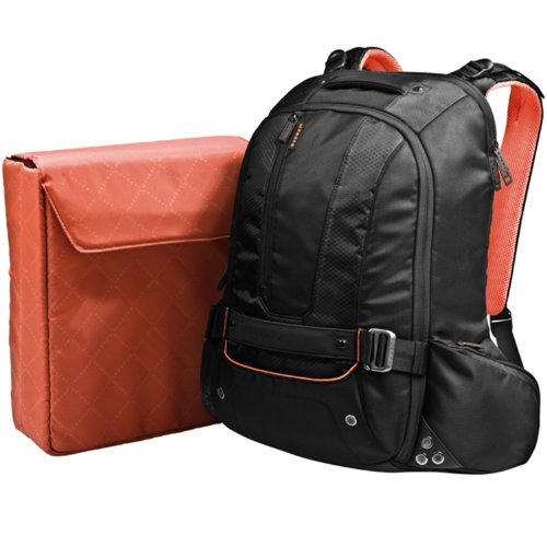 EVERKI 95320-GB Beacon Backpack for 18.4 inch Laptop - Black