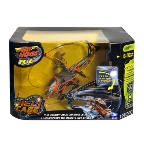 Airhogs Remote Control R/C Heli Cage Helicopter