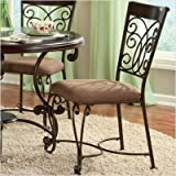 Standard Furniture 13384 Montana Side Chair in Antique Iron