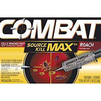 Dial Professional 51963 Combat Roach Killing Gel, Open 30 Gram (Case of 12)