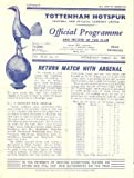 Tottenham Hotspur v Arsenal official programme 13/03/1957 by COLLECTSOCCER.COM