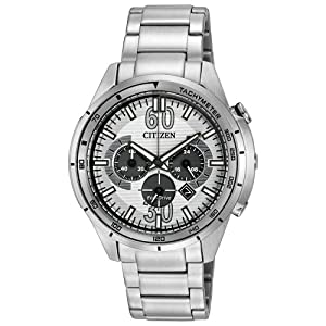 Citizen Men's CA4121-57A Drive from Citizen HTM Analog Display Japanese Quartz Silver Watch