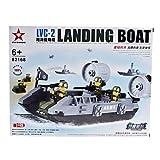 TY 3D DIY Puzzle Landing Boat Building Blocks Bricks Toy Sets (226pcs, Model:82168)