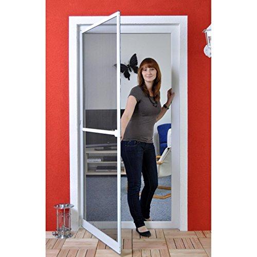 Premium Slim Fliegengitter für Tür als Alubausatz mit...