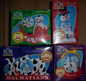 Disney MCDONALD'S 101 DALMATIONS SNOW GLOBE, DOME