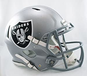 NFL Oakland Raiders Speed Authentic Football Helmet by Riddell