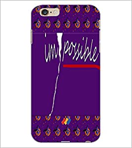 PrintDhaba Quote D-5008 Back Case Cover for APPLE IPHONE 6S PLUS (Multi-Coloured)