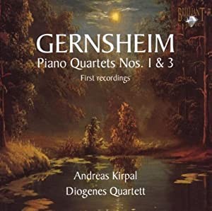 ゲルンスハイム:ピアノ四重奏曲集