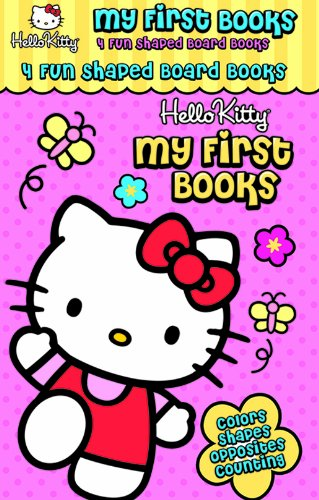 Hello Kitty My First Books/4 Board Book Set