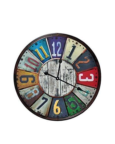 Lo+Demoda Reloj De Pared Old Wood