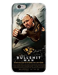 Funny Bullshit Man - Karl Pilkington - An Idiot Abroad 3D Printed Design iPhone 6 Hard Case Protective Cover Shell