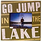 Go Jump in the Lake Photo Frame