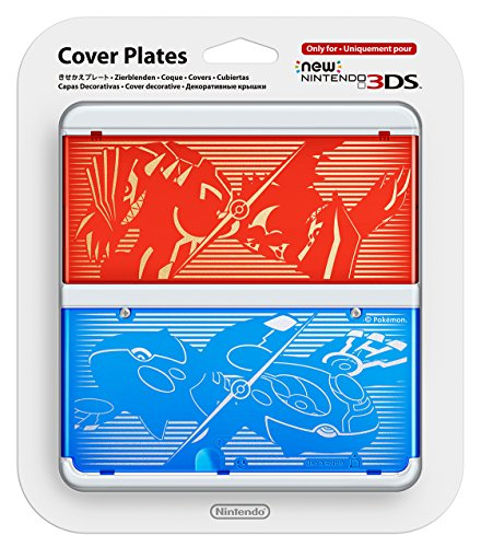 New Nintendo 3DS Cover Plate No. 40 – Pokemon Omega Ruby and Alpha Sapphire