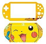 Pikachu P Vinyl Decal Skin Sticker for Sony PlayStation PS Vita PSV 2000