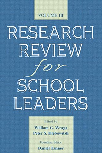 Research Review for School Leaders: Volume III: v. 3