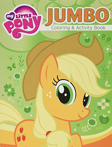 2 Pack 96pg My Little Pony Jumbo Coloring & Activity Book - Assorted