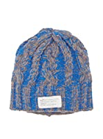 Marc by Marc Jacobs Gorro Lana Chunky Cable (Azul / Gris)