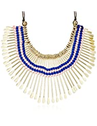Swan Fabric Multi-strand Necklace For Women (Gold) (Kbi-008)