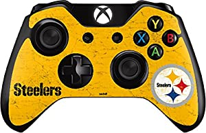Pittsburgh Steelers - Alternate Distressed - Skin for Xbox One - Controller at Steeler Mania